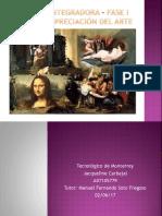 Actividad Integradora – Fase I - Arte