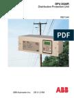 ABB DPU 2000R Distribution Protection Unit.pdf