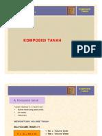2. Komposisi Tanah (Part. 2)