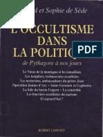 De Sède Gérard - De Sède Sophie - L'Occultisme Dans La Politique