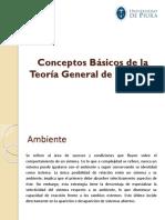 Conceptos Básicos de La Teoría General de Sistemas