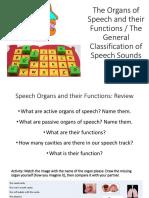 Speech Organs PDF
