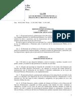 3759 - Ley de Retiros y Pensiones -  Jujuy