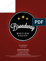 Projection Guide All Shook Up