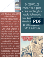 GIG Desarrollos Construye La Rioja Residencial en Zona de Descomposición Social, Violencia y Crimen