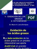Beta Oxidacion