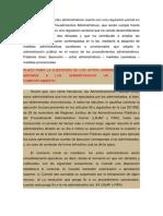 La ejecución de los actos administrativos cuenta con una regulación parcial en la Ley Orgánica de Procedimientos Administrativos.docx
