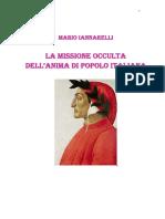 Mario Iannarelli - La Missione Occulta Dell Anima Di Popolo Italiana