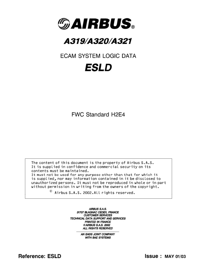 Airbus Esld Ecam System Logic Data Warn 77506 Model Wiring Diagram