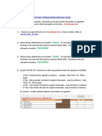 Taller 02 Ejercicios Operaciones Básicas Excel