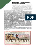 LA FIEBRE DE ORO DE CALIFORNIA  Y LA IMPORTANCIA DE LA CONSTRUCCIÓN DEL FERROCARRIL.docx
