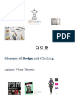 Glossary of Design and Clothing