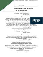 2017-6-26 Amicus Brief of Texas, Louisiana, Hawaii, Kansas, And Nebraska