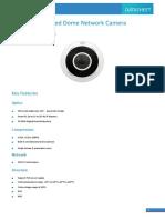 UNV IPC814SR-DVPF16 4MP Fisheye Fixed Dome Network Camera V1.0
