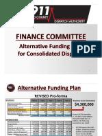 KCCDA Alternative Funding Plan