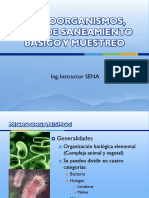 Microorganismos, Plan de Saneamiento Básico y Muestreo Bpm