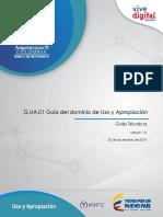 Guia del modelo de uso y apropiacion