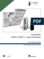 Ecodrive Dkc01.1_dkc11.1 Version Notes Ase 04vrs_ase04_fvn1