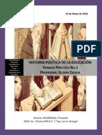 Historia Política de La Educación
