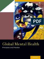 Patel. Global Mental Health