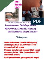 Diskrepansi Golongan Darah Sistem ABO Samson Teron