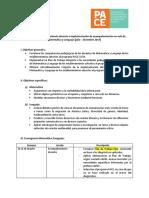Plan de Trabajo Acompañamiento Matemática y Lenguaje 2017