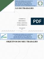 Modelo de PowerPoint - Defesa TCC-ADMINISTRACAO-2017