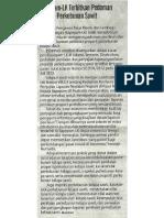 Surat edaran Nomor:SE-9/BL/2012 pada 13 Juli 2012
