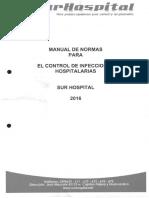 Protocolo de Control de Infecciones Hospitalarias