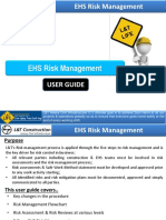 10. EHS Risk Management - User Guide