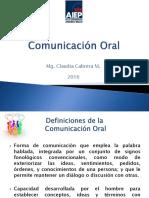 Comunicación Oral 27 de Julio