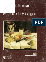Comida Familiar en El Estado de Hidalgo