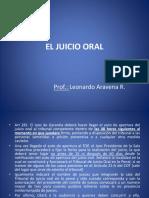 26.- El Juicio Oral
