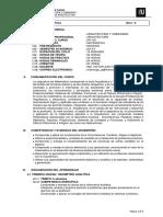 Ar-415 Sillabo de Matematica 2014-II
