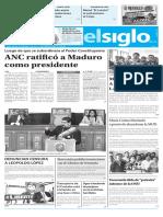 Edicion Impresa El Siglo 11-08-2017