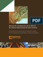 Manual de señalización  del Patrimonio Histórico de Gran Canaria