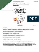 ¿Hablamos mal español en América Latina? Debate en HayFestivalMéxico@BBCMundo - BBC Mundo.pdf