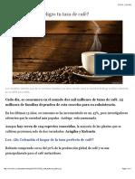 ¿Por qué está en peligro tu taza de café? - BBC Mundo