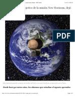 ¿Por qué Plutón, objetivo de la misión New Horizons, dejó de ser planeta? - BBC Mundo