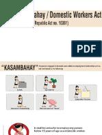 Kasambahay Law RA 10361