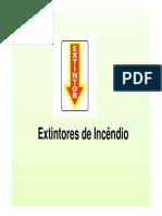 Aula 07 - Extintores