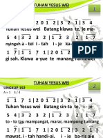 Ungkup 192 - Tuhan Yesus Wei