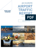 ACI Europe Airport Traffic Report - June, Q2 & H1 2017 PR
