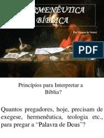 1 Introdução à Hermenêutica - Primeiras Palavras.ppt