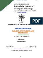 Sgp Lab Manual