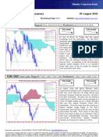 AUG-09 Mizuho Weekly Technical Commentary EUR USD JPY
