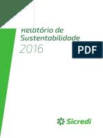 Relatório Sicredi 2016