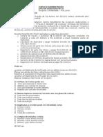 Contabilidade I - Exercício 10 - RE Balancete Razonete
