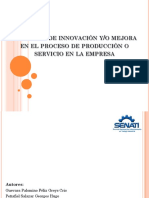 Presentacion Proyecto de Innovación
