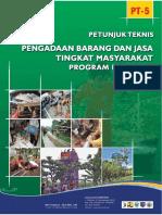 Final Juknis Pengadaan Barang Dan Jasa Tingkat Masyarakat Edisi 2016_ Desember 2016__FF-For WEB